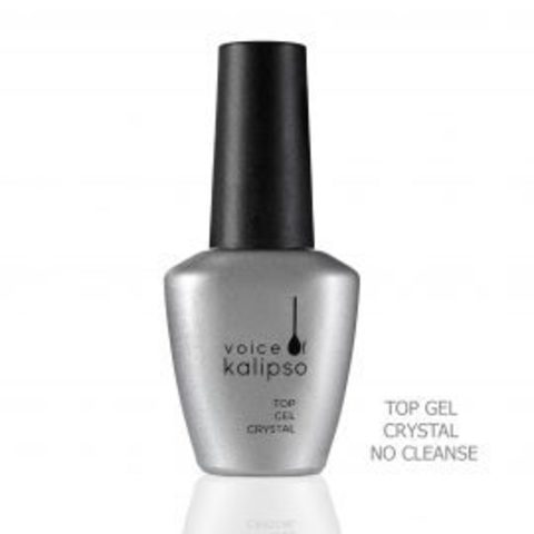 Voice of Kalipso Top Gel Crystal No Cleanse, 10 мл