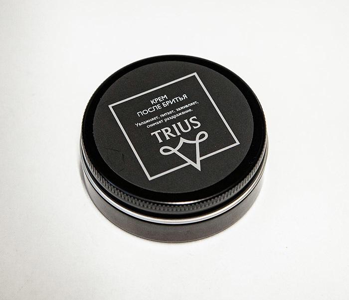 RAZ244-1 Заживляющий и успокаивающий крем после бритья TRIUS (50 мл) фото 02