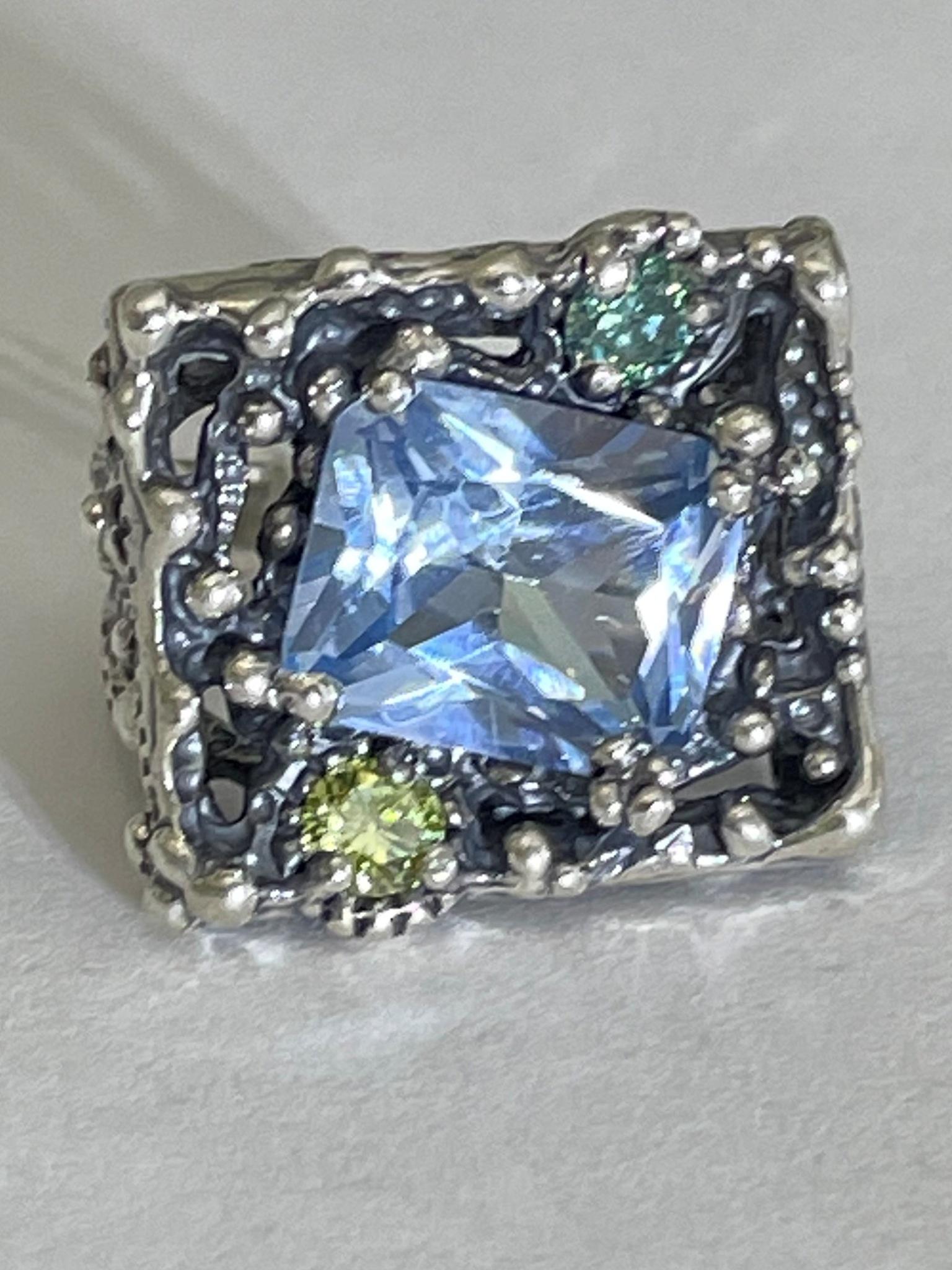 Камелот (кольцо из серебра)