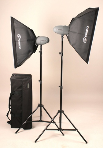 Visico VL PLUS 200 Soft Box Kit