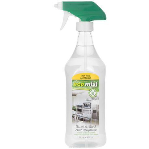 Eco Mist Средство для очистки поверхностей из нержавеющей стали, 825 мл