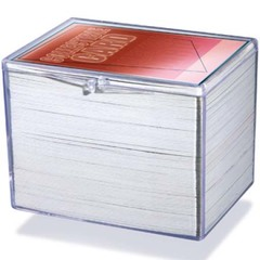 Ultra Pro - Коробочка из прозрачного пластика для хранения 150 карт