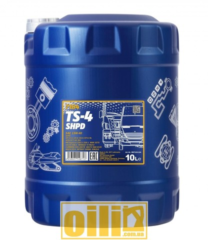 Mannol 7104 TS-4 SHPD 15W-40 10л