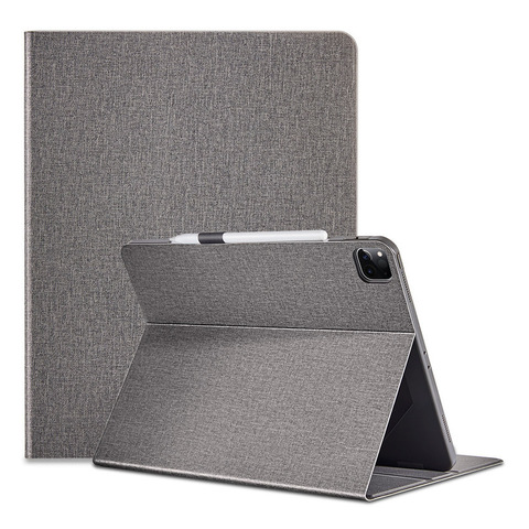Тканевый магнитный чехол ESR Urban Folio Case для iPad Pro 11 2020 (серый)