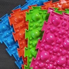 Массажный коврик Камни жесткие след модульный коврик-пазл