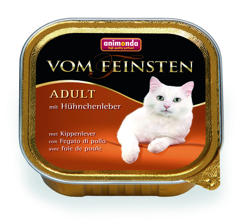 Консервы Animonda Vom Feinsten Adult с куриной печенью для взрослых кошек