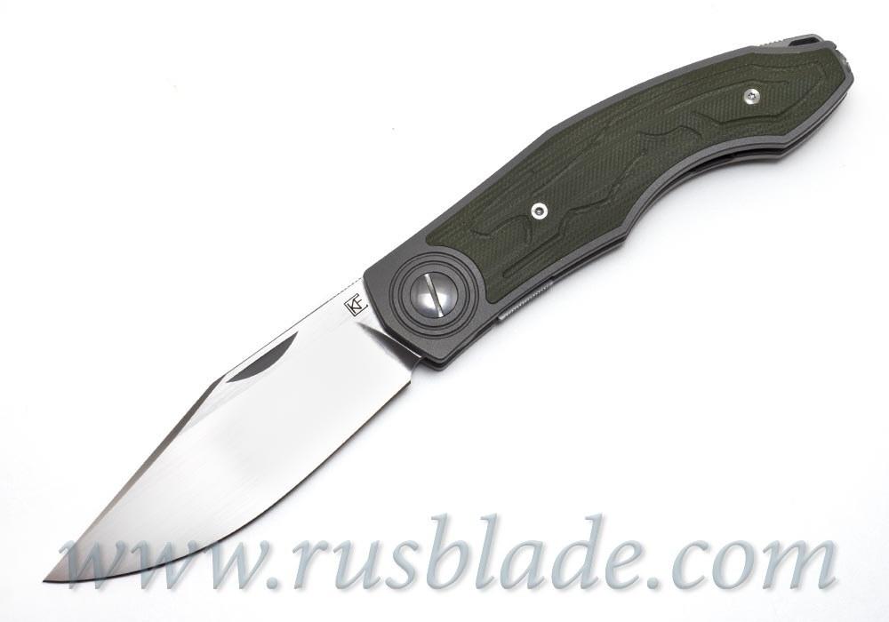 CKF Veksha (Belka) knife (G10 green) - фотография