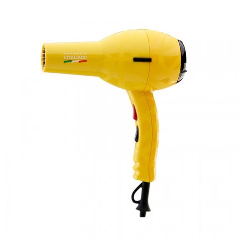 Фен Gamma Piu L'Italiano, 2000 Вт, желтый