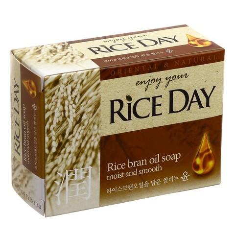 Туалетное мыло для рук и тела CJ Lion с маслом рисовых отрубей 100 гр