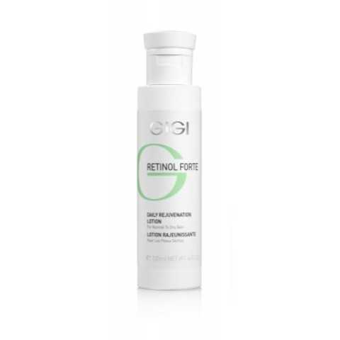 GIGI Retinol Forte: Лосьон-пилинг для нормальной и сухой кожи лица (Daily Rejuvenation Lotion for Normal to Dry Skin), 120мл