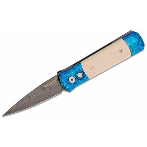 Автоматический нож Pro-Tech 710-DAM Godson, Дамаск