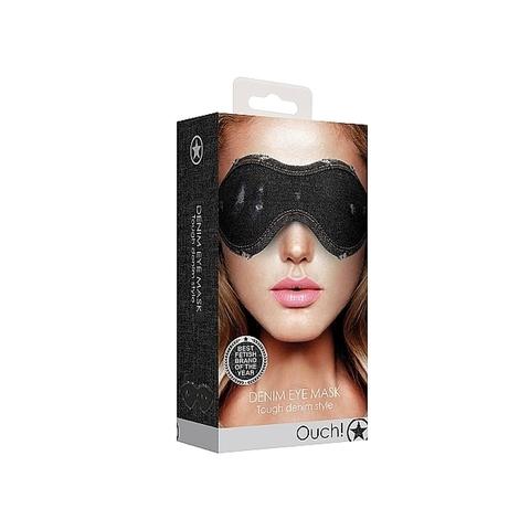 Shots Джинсовая маска на глаза Roughend Denim Style