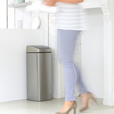 Прямоугольный мусорный бак Touch Bin (25 л), артикул 384929, производитель - Brabantia, фото 12