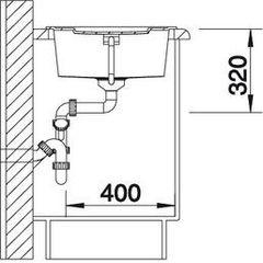 Мойка Blanco Metra 5S схема
