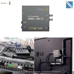 Устройство записи Blackmagic Design Mini Converter - HDMI to SDI 6G