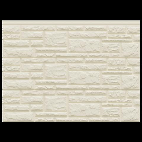Фасадные панели (Цокольный Сайдинг) Доломит Rockvin Слоновая кость