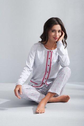 Пижама домашняя с брючками Luna 508