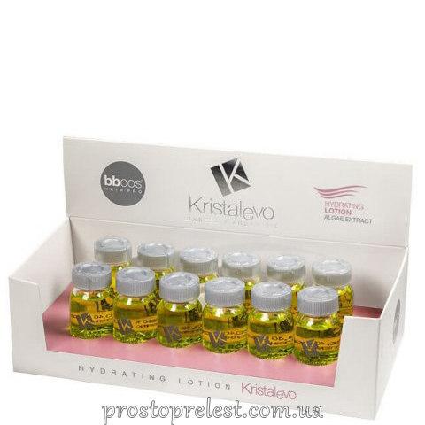 BBcos Kristal Evo Hydrating Lotion Argan Extract - Зволожуючий лосьйон для волосся в ампулах