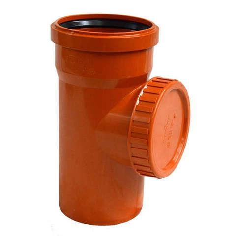 Ревизия наружной канализации d110мм 6006