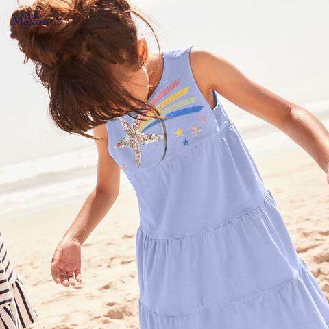 Платье для девочки Little maven Звезда