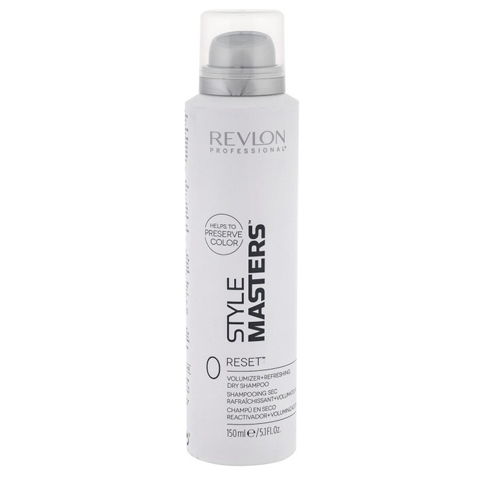 REVLON Style Masters: Сухой шампунь, освежающий прическу и придающий объем волосам (Dorn Reset), 150мл
