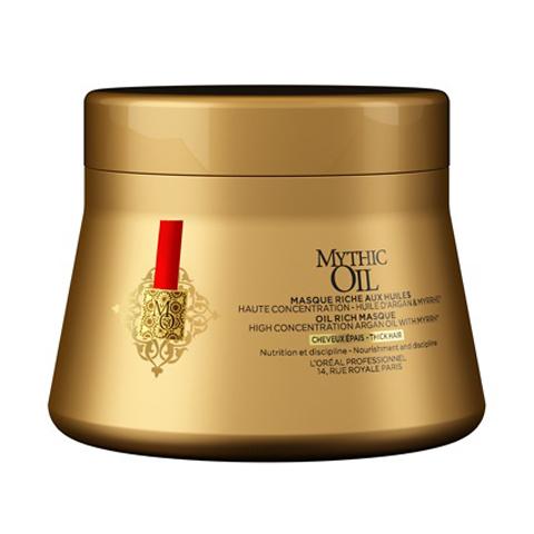 L'Oreal Professionnel Mythic Oil: Питательная маска для плотных волос (Mythic Oil Masque for Thick Hair), 200мл
