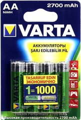 Аккумуляторы Varta 5706 (HR6) AA 2700mAh 1х4 шт.