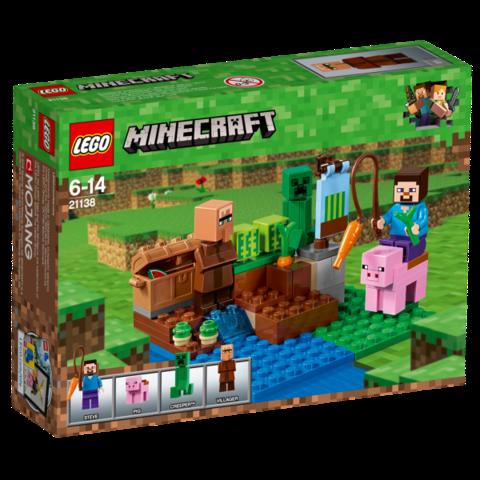LEGO Minecraft: Арбузная ферма 21138 — The Melon Farm — Лего Майнкрафт