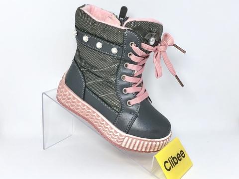 Clibee (зима) H703 Gray 22-27