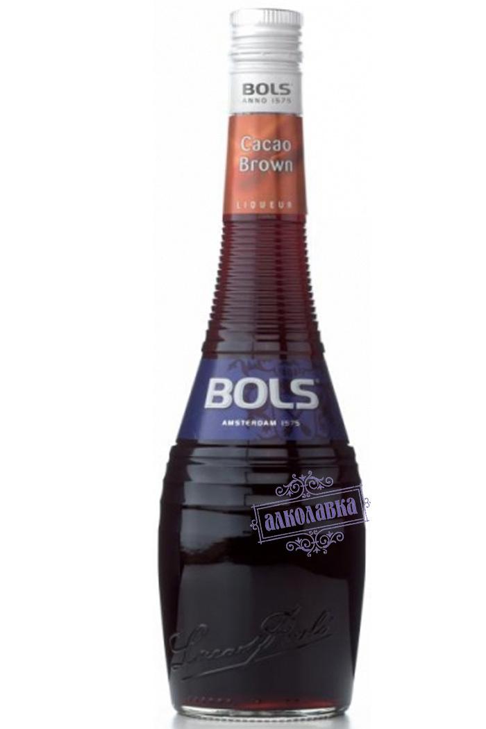 Болс Крем де Какао (коричневый). Ликер. 0,7 Л