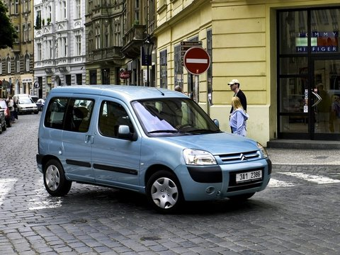 Чехлы на Citroen Berlingo 2002–2012 г.в.