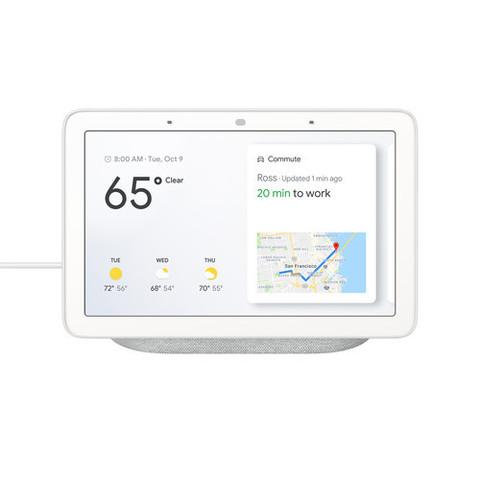 Домашний помощник Google Home Hub Chulk (серый)