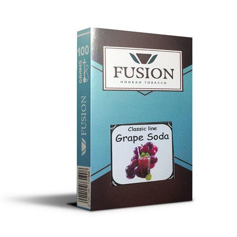 Табак Fusion Soft Grape Soda 100 г