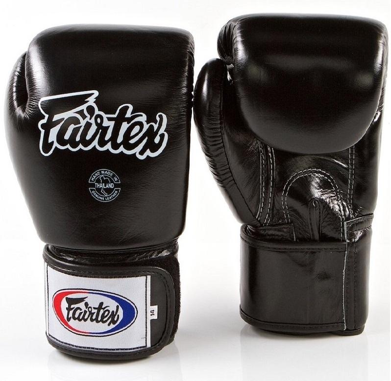 Перчатки Перчатки для бокса Fairtex Boxing gloves BGV1 Black 1.jpg