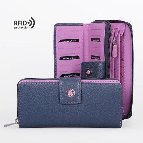 938 R - Портмоне с RFID защитой