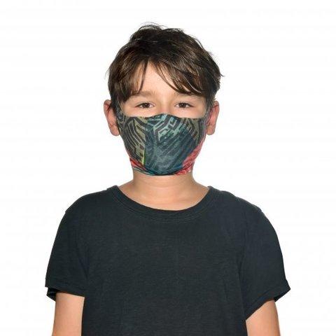 Маска защитная детская Buff Mask Stony Green фото 2