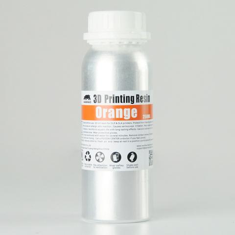 Фотополимер Wanhao Standard Resin, оранжевый (250 мл)