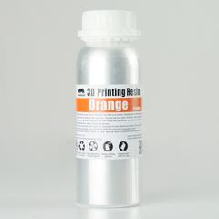 Фотография — Фотополимер Wanhao Standard Resin, оранжевый (250 мл)