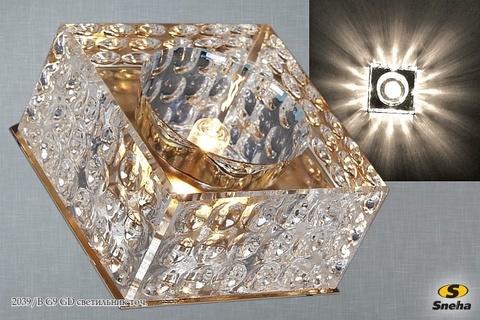 2039/B G9 GD светильник точ.