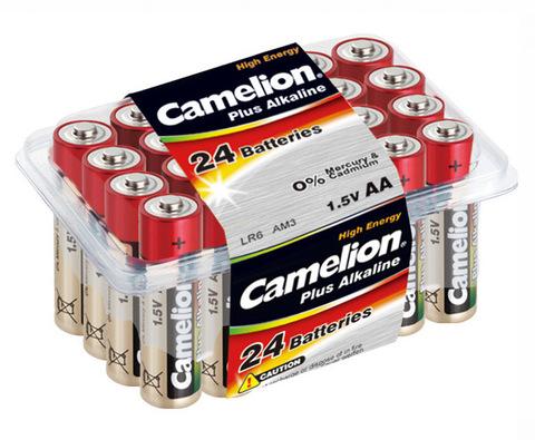 Батарейки Camelion Alkaline LR6, AA (24/240)