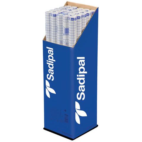 Пленка Sadipal прозрачная из целлюлозы в рулоне 30г/м.кв 0,5*2м прозрачный 10 рулонов в упаковке