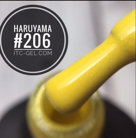 гель лак Haruyama 8мл (206)
