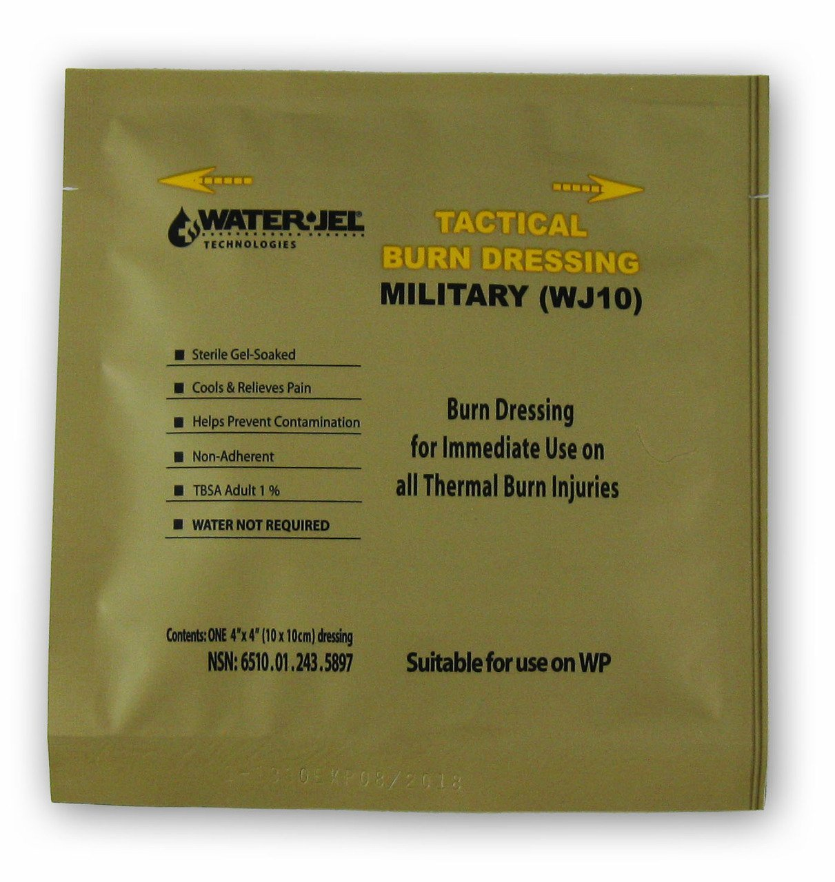 Противоожоговое средство Water Jel (10*10 см) (средство от ожогов армии США)