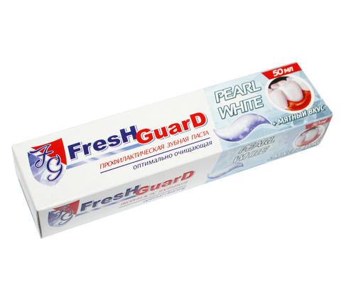 Зубная паста Fresh Guard Pearl White, 50 мл.