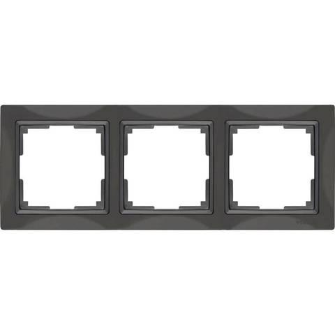 Werkel Рамка W0032007 (WL03-Frame-03) серо-коричневый basic