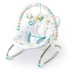 Кресло-качалка с дугой и игрушками