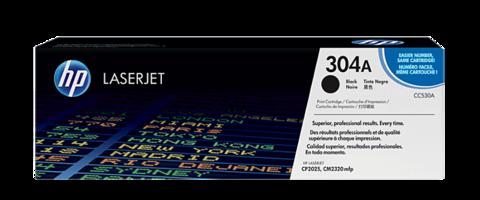 Оригинальный картридж HP CC530A (№304A), чёрный