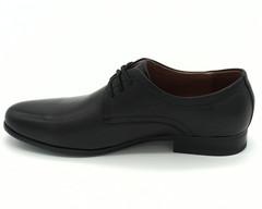Черные классические полуботинки на шнурках