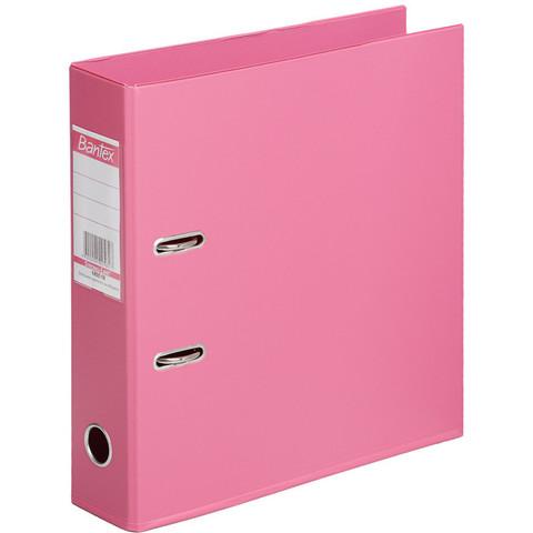 Папка-регистратор Bantex Strong Line 70 мм розовая