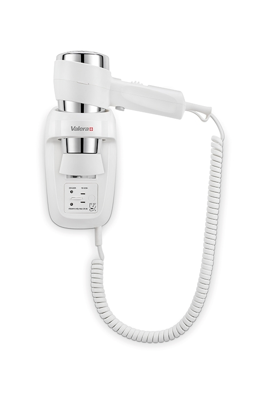 Фен настенный VALERA Action Protect 1600 Shaver White